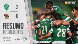 Liga NOS (19ªJ): Resumo Sporting CP 2-0 FC P.Ferreira