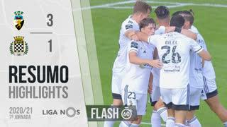 Liga NOS (7ªJ): Resumo Flash SC Farense 3-1 Boavista FC
