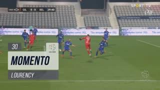 Gil Vicente FC, Jogada, Lourency aos 30'