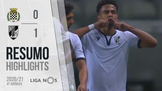 Liga NOS (4ªJ): Resumo Boavista FC 0-1 Vitória SC