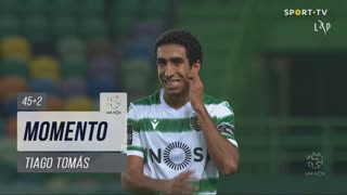 Sporting CP, Jogada, Tiago Tomás aos 45'+2'