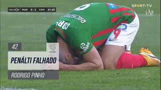 Marítimo M., Jogada, Rodrigo Pinho aos 42'