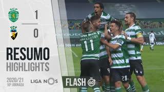 Liga NOS (10ªJ): Resumo Flash Sporting CP 1-0 SC Farense