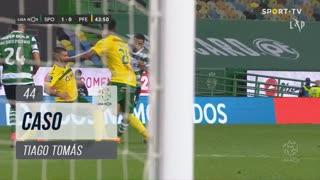 Sporting CP, Caso, Tiago Tomás aos 44'