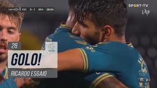 GOLO! SC Braga, Ricardo Esgaio aos 28', Vitória SC 0-1 SC Braga