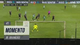 Rio Ave FC, Jogada, Jr. Brandão aos 41'