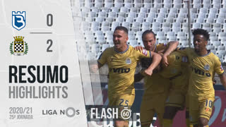 I Liga (25ªJ): Resumo Flash Belenenses SAD 0-2 Boavista FC