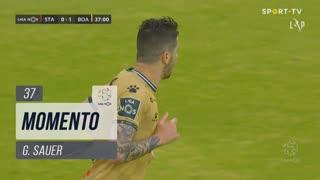 Boavista FC, Jogada, G. Sauer aos 37'