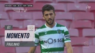 Sporting CP, Jogada, Paulinho aos 61'