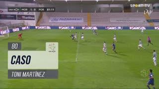 FC Porto, Caso, Toni Martínez aos 80'