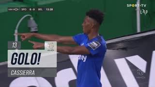 GOLO! Belenenses SAD, Cassierra aos 13', Sporting CP 0-1 Belenenses SAD