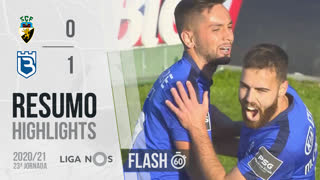 Liga NOS (23ªJ): Resumo Flash SC Farense 0-1 Belenenses SAD