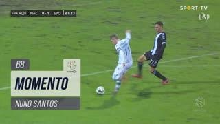 Sporting CP, Jogada, Nuno Santos aos 68'