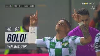 GOLO! Moreirense FC, Yan Matheus aos 40', Moreirense FC 1-1 SL Benfica
