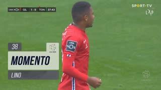 Gil Vicente FC, Jogada, Lino aos 38'