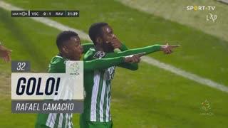 GOLO! Rio Ave FC, Rafael Camacho aos 32', Vitória SC 0-2 Rio Ave FC
