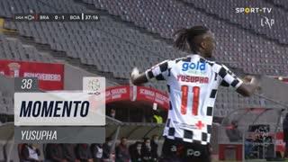 Boavista FC, Jogada, Yusupha aos 38'