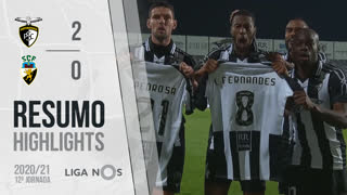 Liga NOS (12ªJ): Resumo Portimonense 2-0 SC Farense