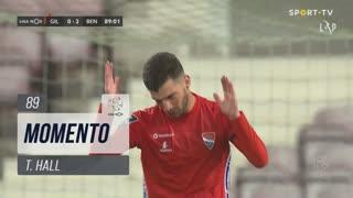 Gil Vicente FC, Jogada, T. Hall aos 89'