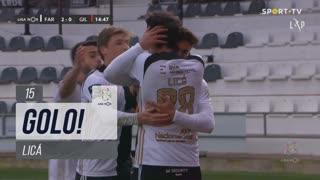 GOLO! SC Farense, Licá aos 15', SC Farense 2-0 Gil Vicente FC