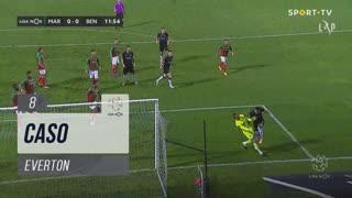 SL Benfica, Caso, Everton aos 8'