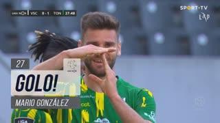 GOLO! CD Tondela, Mario González aos 27', Vitória SC 0-1 CD Tondela