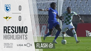 I Liga (4ªJ): Resumo Flash Belenenses SAD 0-0 Moreirense FC