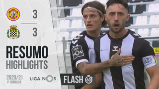I Liga (1ªJ): Resumo Flash CD Nacional 3-3 Boavista FC