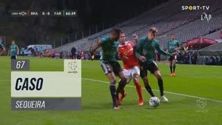 SC Braga, Caso, Sequeira aos 67'