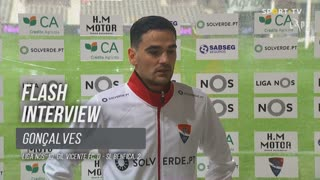 Claude Gonçalves lamentou oportunidades perdidas