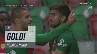 GOLO! Marítimo M., Rodrigo Pinho aos 14', Marítimo M. 1-0 SL Benfica