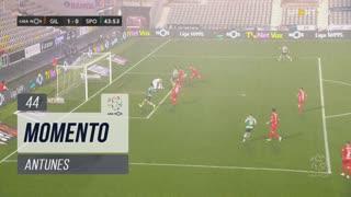 Sporting CP, Jogada, Antunes aos 44'