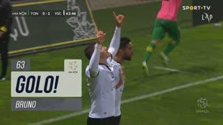 GOLO! Vitória SC, Bruno aos 63', CD Tondela 0-2 Vitória SC