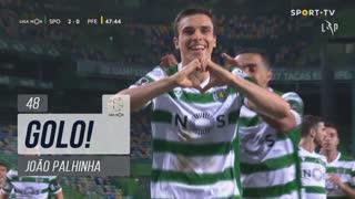 GOLO! Sporting CP, João Palhinha aos 48', Sporting CP 2-0 FC P.Ferreira