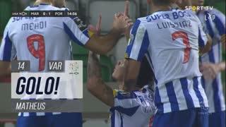 GOLO! FC Porto, Matheus aos 14', Marítimo M. 0-1 FC Porto