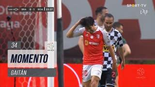 SC Braga, Jogada, Gaitán aos 34'