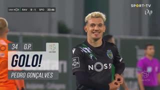 GOLO! Sporting CP, Pedro Gonçalves aos 34', Rio Ave FC 0-1 Sporting CP