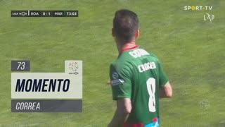 Marítimo M., Jogada, Correa aos 73'