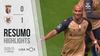 I Liga (2ªJ): Resumo SC Braga 0-1 Santa Clara