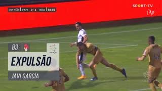 Boavista FC, Expulsão, Javi García aos 83'