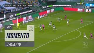 Moreirense FC, Jogada, D'Alberto aos 43'