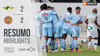 I Liga (31ªJ): Resumo Moreirense FC 2-2 CD Nacional