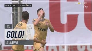 GOLO! Boavista FC, G. Sauer aos 60', CD Nacional 2-3 Boavista FC