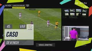 Boavista FC, Caso, Devenish aos 45'