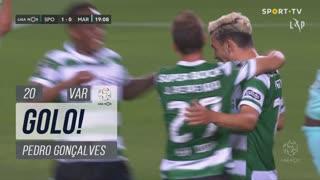 GOLO! Sporting CP, Pedro Gonçalves aos 20', Sporting CP 2-0 Marítimo M.