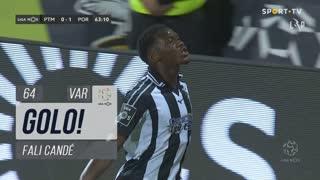 GOLO! Portimonense, Fali Candé aos 64', Portimonense 1-1 FC Porto