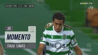 Sporting CP, Jogada, Tiago Tomás aos 36'