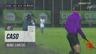 Sporting CP, Caso, Nuno Santos aos 42'