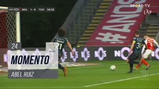 SC Braga, Jogada, Abel Ruiz aos 24'