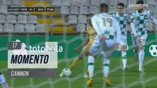 Boavista FC, Jogada, Cannon aos 17'
